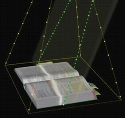 赛数非接触式案卷扫描仪