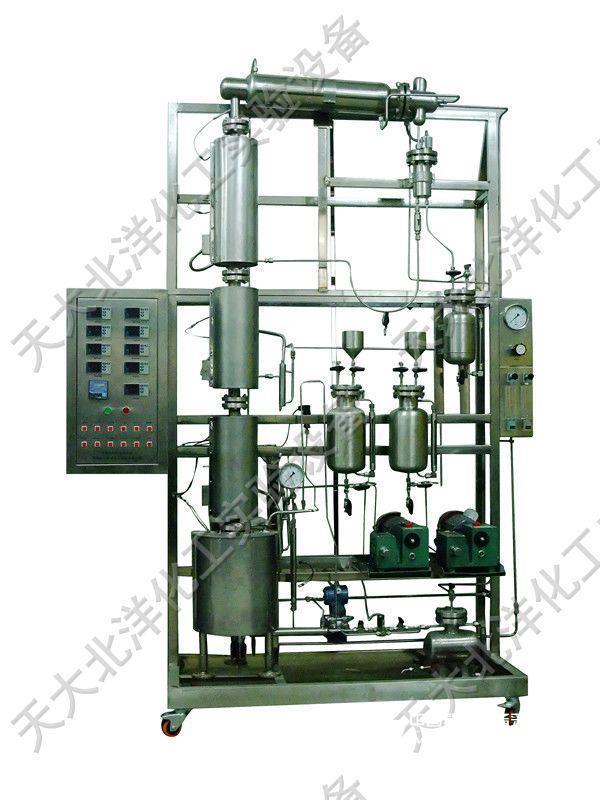 不锈钢填料塔精馏装置