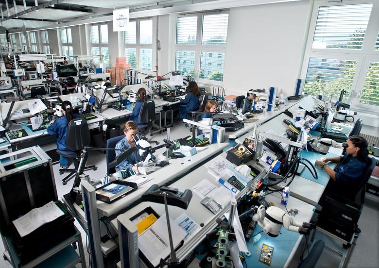 徕卡体视显微镜大大提升质控工作的效率---以堡盟电子为例