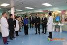 中國醫科大學黨委副書記、校長聞德亮到第二臨床學院慰問一線醫務人員