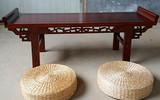 幼兒園國學館用的桌子椅子尺寸和顏色-露瑤天國學課桌