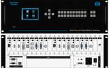 RENSTRON按键型9*9高清数字混合矩阵切换器RHS-0909按键混插单路板卡4K无缝切换