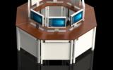 电脑升降桌、显示器升降桌、显示器升降电脑桌、电脑拼接桌