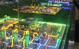 长沙科威模型提供天然气长输管道一体化实训装置动态演示模型KWYQ-SX15米X4米