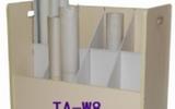 欖雄 8格工程圖紙車 A0A1卷圖紙柜 施工圖紙木質圖紙檔案車