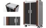 安和力平板电脑充电柜 平板电脑 ipad充电车 移动充电柜