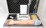 高级电动脉搏式手臂动脉及静脉穿刺练习模型
