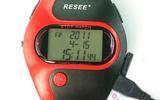 体育秒表高亮度LED背光计时器三排显示停表比赛运动计时跑表批发