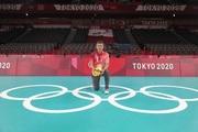 西南交通大学体育学院刘江教授作为唯一一位中国排球裁判执裁东京奥运会