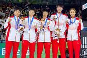 西安交大附中女篮代表陕西队出征 获十四运会女子三人篮球银牌