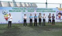 山东第三届幼儿园小小足球联赛举行