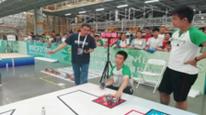 四方高中學生在世界機器人比賽中獲佳績