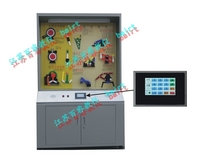 JY10-79B型机械原理陈列柜(触摸屏控制)(高档款)