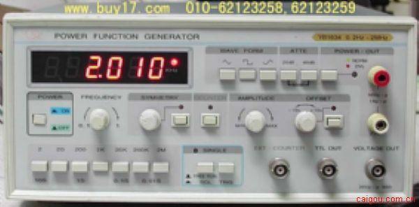 高壓函數信號發生器 低頻高壓發生器 1634