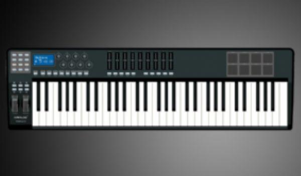 61键MIDI键盘控制器