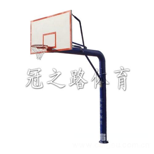 地埋圆管篮球架