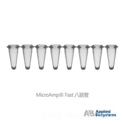 ABI熒光定量 PCR八聯排管