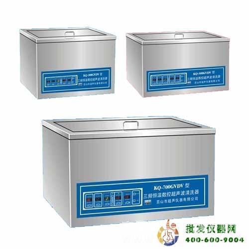 臺式三頻恒溫數控超聲波清洗KQ-700GVDV