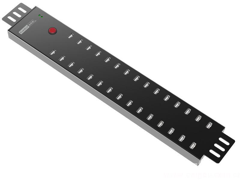 西普萊多口A-812 USB分線器30口HUB集線器手機平板數據傳輸刷機充電柜
