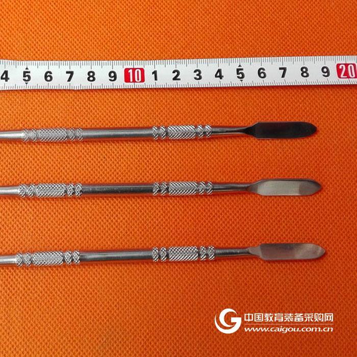 SUS304不銹鋼 18cm圓柄不銹鋼藥勺 扁平鋒利 精品不銹鋼藥刮