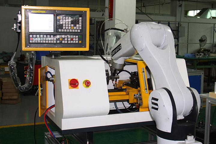 機器人上下料數控銑床實訓系統
