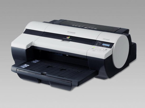 佳能IPF500大幅面打印机