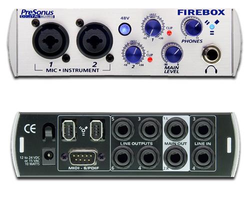 Firebox 专业音频卡