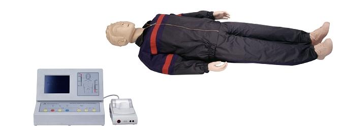CPR500大屏幕液晶彩显高级全自动电脑心肺复苏模拟人