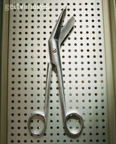 上海恒久14cm 正弯圆头开齿鼻剪
