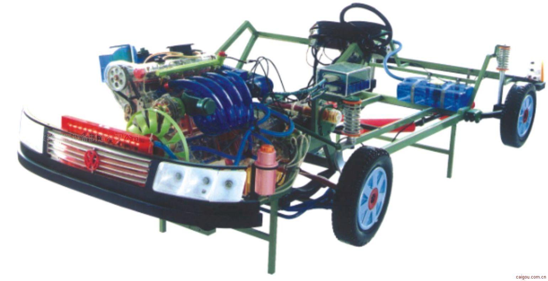 上海帕萨特B5透明模型