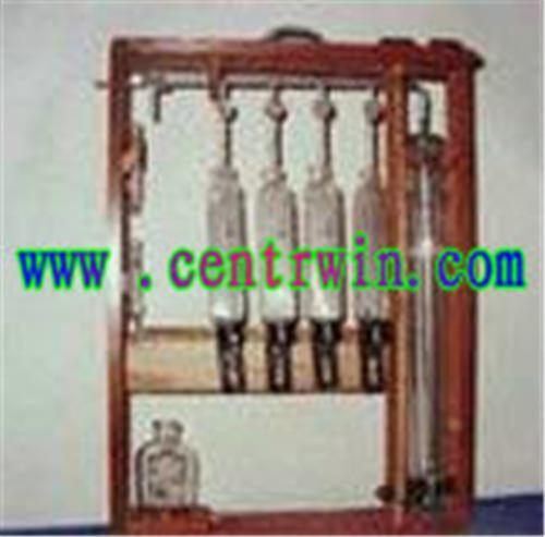 奥式气体分析仪/三管气体分析仪 型号:TCY-1901
