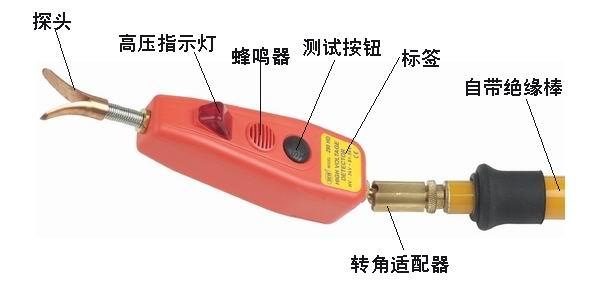 接触式高压验电器  产品货号: wi101625