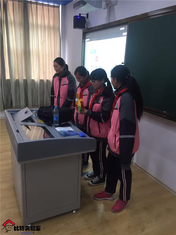 比特实验室探访宁波市古林镇中学