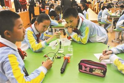 杭州小学普及创客教育让学生在实践中创新